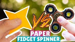 Origami Fidget Spinner | Origami Triple Fidget Spinner | How To Make Fidget Spinner Without Bearings