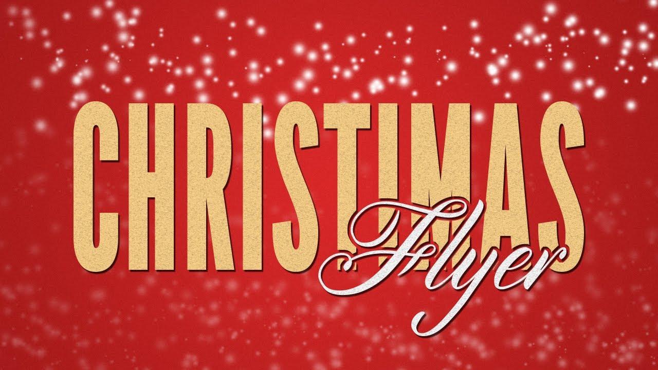 Photoshop cs6 cc tutorial christmas party flyer youtube photoshop cs6 cc tutorial christmas party flyer baditri Choice Image