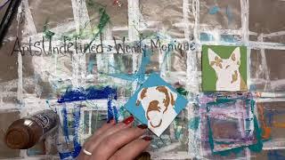 Arts Undefined by Wendy Moniqué Pet Portrait Ornament painting