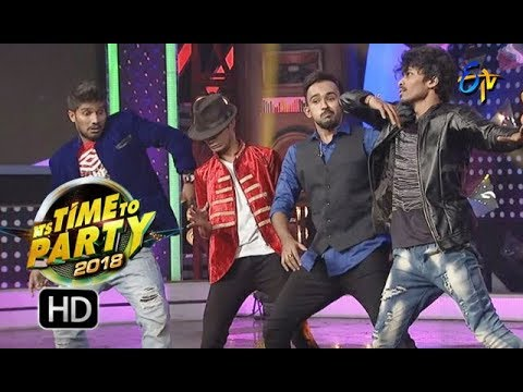 Dhee 10 Team Performance | ITS TIME TO PARTY | 31st December 2017 | ETV Telugu