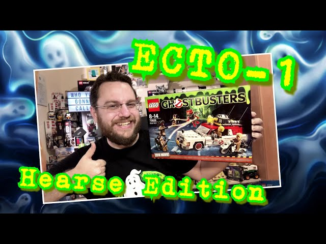 Who You Gonna Call? - The Ladies! - ECTO-1 (Hearse Edition from 2016) - Lego Ghostbusters 75828