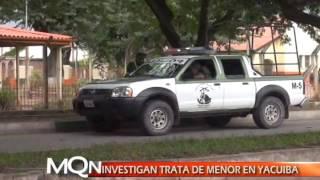 INVESTIGAN TRATA DE MENOR EN YACUIBA