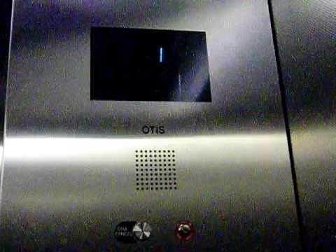 Otis Hydraulic Elevator @ El Camino Hospital Parking Garage Mountain View CA