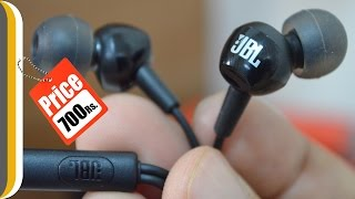 jBL C100SI In Ear Headphones with Mic : Unboxing & Review