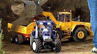 XXL SCALE 1:8 FANTASTIC CONSTRUCTION MODEL MACHINES AT WORK / Faszination Modellbau 2016