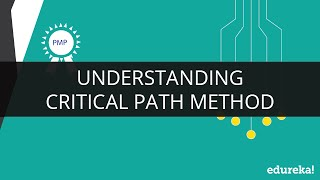 Critical Path Method in Project Management | Critical Path Method Tutorial | CPM | Edureka