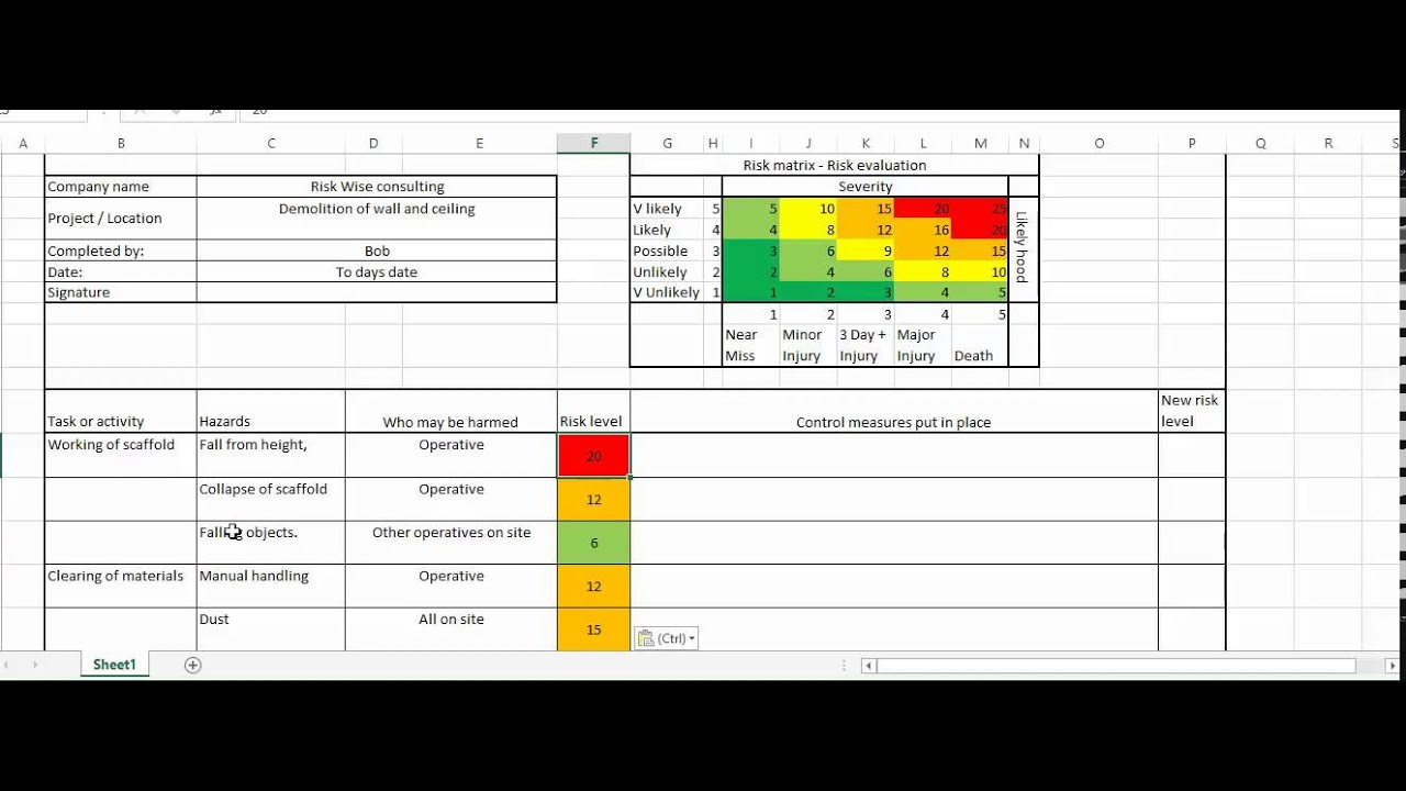 Construction Risk Assessment  Youtube