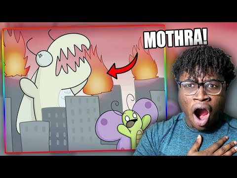 ATTACK OF THE KILLER MOTH! | TheOdd1sOut: Harry the Moth Reaction!