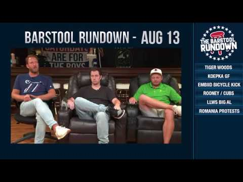 Barstool Rundown - August 13, 2018