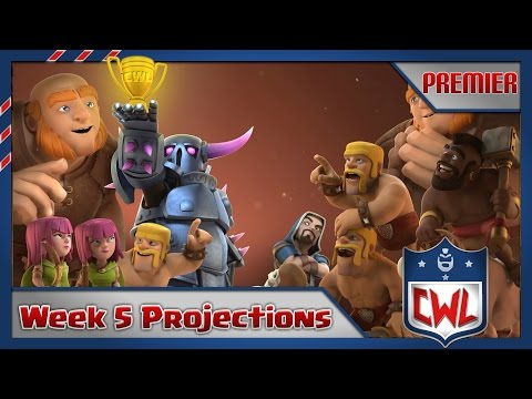CWL Premiere Week 5 Projections and Viewer Poll