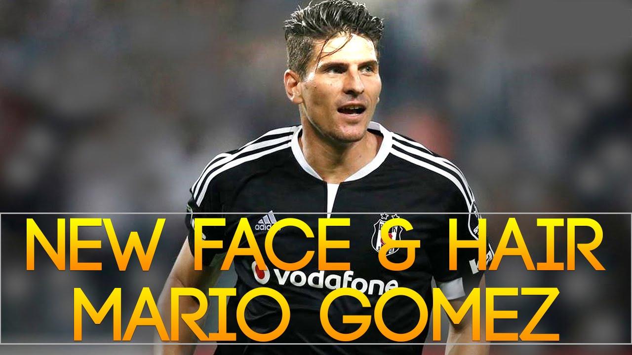 New face & hair Mario Gomez 2016 2017 [PES 2013] by Radim Luca