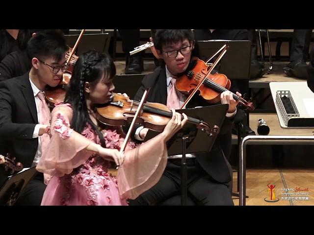 小提琴協奏 《梁山伯與祝英台》The Butterfly Lovers  楊宇思【香港青年愛樂樂團】