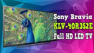 Sony Bravia KLV40R352E | Unboxing and Review