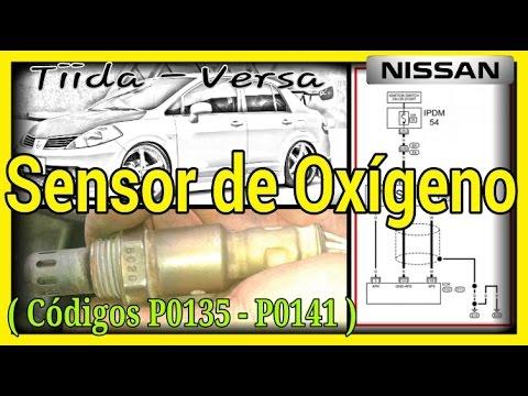 Sensor de Oxígeno, Nissan Tiida, Versa. - YouTube