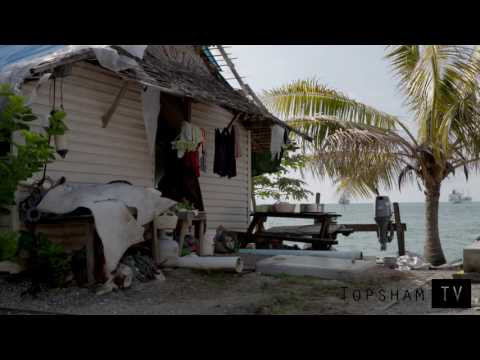 SOLOMONS CLIMATE CHANGE - FISHING VILLAGE UNDER THREAT