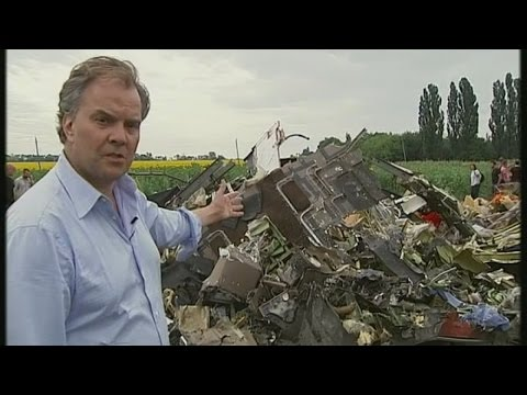 A cornfield  - and a scene of terrible carnage | Channel 4 News