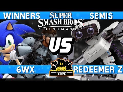 Smash Ultimate Tournament Match - Redeemer Z (ROB) v 6WX (Sonic / Snake) - CNB 169 thumbnail