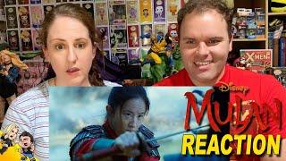 Mulan Official Trailer REACTION