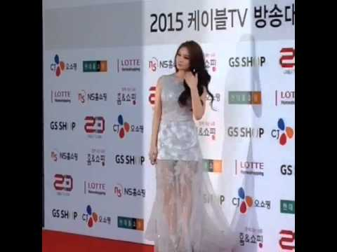 150313 Jiyeon @ 2015 Cable TV Broadcasting Awards
