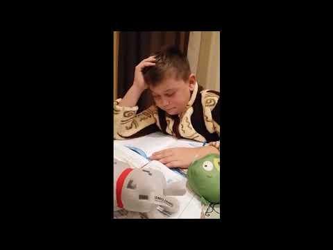 Дети учат уроки приколы видео