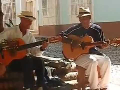 Cuban Street Guitars Trinidad