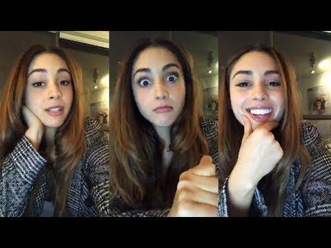 Lindsey Morgan   Instagram Live Stream   19 November 2017