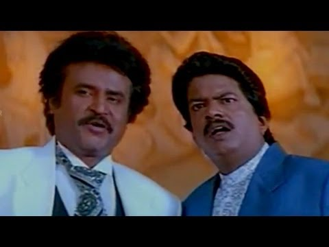 Arunachalam Movie || Rajnikanth & His Secretary Comedy Scene