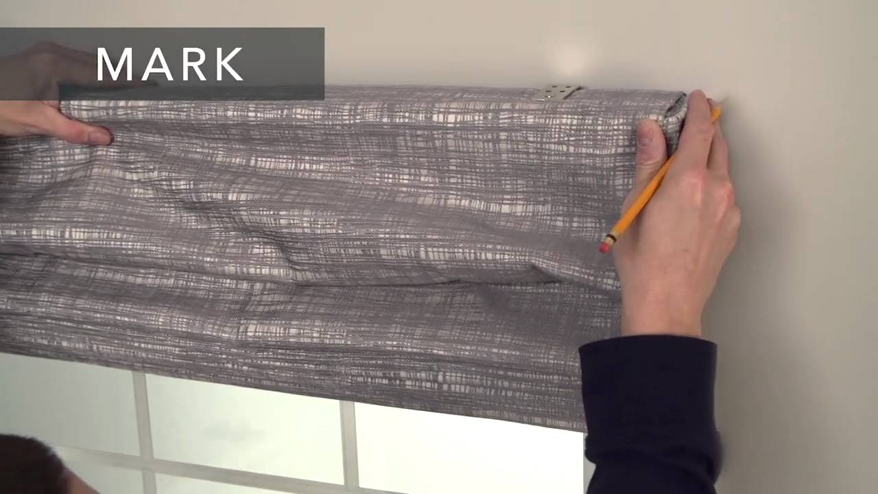 Signature Series | How to Install Tailored Roman Shades - Outside Mount