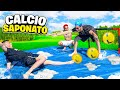 ⚽CALCIO SAPONATO 1vs1 FOOTBALL CHALLENGE! w/Teknoyd, Zblito e Ussa  (100% DIVERTENTE)