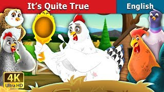 It's Quite True Story in English | Bedtime Stories | English Fairy Tales
