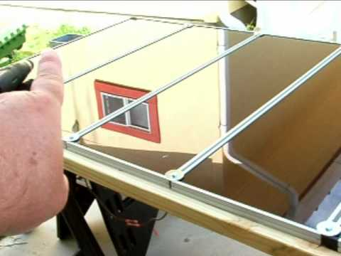 How To Install Harbor Freight Solar Panels Part 2 Youtube