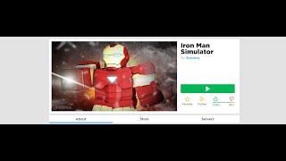 LD PLAYS ROBLOX FÜR DIE ERSTE ZEIT!!!!! Iron Man Simulator