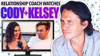 Relationship Coach Reacts to CODY KO and KELSEY KREPPEL