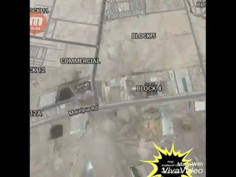 Map from Musharaf Colony to Hawks Bay Scheme 42 Rd