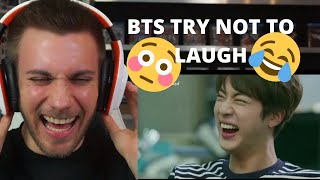 BTS TRY NOT TO LAUGH CHALLENGE #1- I FAIL HORRIBLY! Reaction