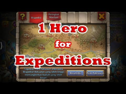Castle Clash | One Hero For Expeditions