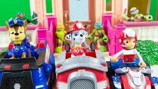 Paw Patrol Toys Ryder Marshall Chase Toy Cars Toy Trucks Nickelodeon