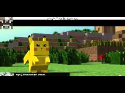 PİKACHU ŞAKASI !! Minecraft Komik Animasyon