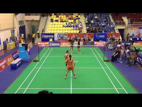 Asia Mixed Team Championships 2017 - M3 - Japan vs Thailand - Women's Doubles