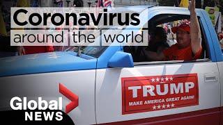 Coronavirus around the world: May 16, 2020