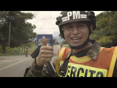 Somos soldados de Colombia, siempre dispuestos a servirle a esta gran nación