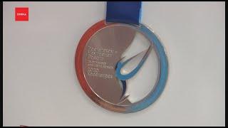 Показали медали чемпионата России по фигурному катанию
