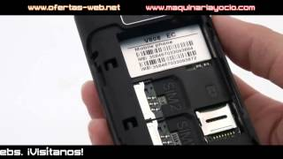 Teléfono móvil cuatribanda | maquinariayocio.com