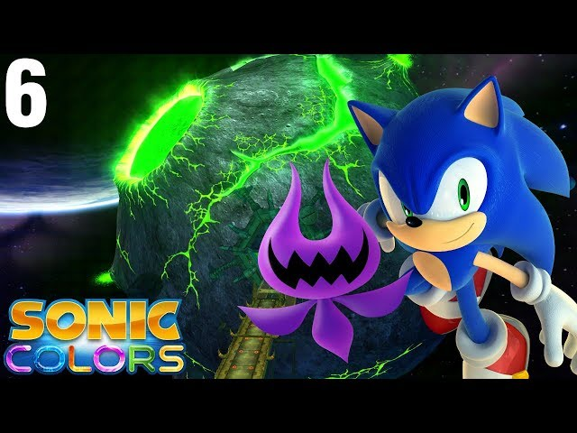 Sonic Colors (Wii) [4K] - Story Playthrough (6/7) - Asteroid Coaster