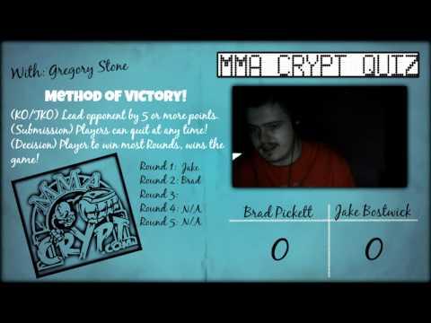 [MMA Crypt Quiz] Brad Pickett vs. Jake Bostwick