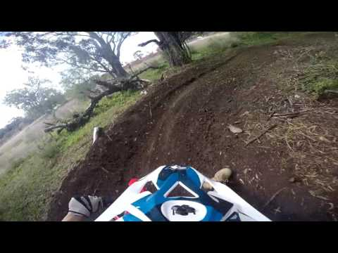 Crf110 pitbike track.. before upgrade