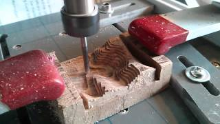 Zen Toolworks 7x7 CNC mill - Milling Old Man of Coniston out of walnut