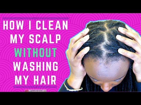 How To Get A Clean Scalp Without Washing Your Hair