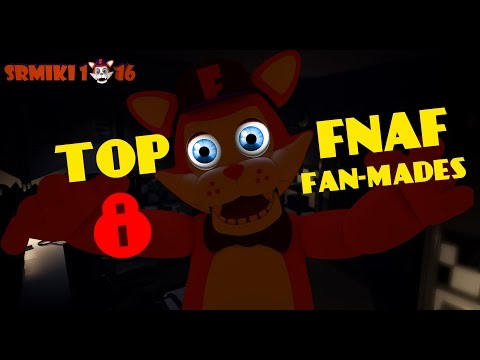 ¡TOP 8 NUEVOS JUEGOS! - FIVE NIGHTS AT FREDDYS FAN-MADES