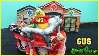 Fire Trucks for Children Pretend Play! Fire Engines for kids family Fun